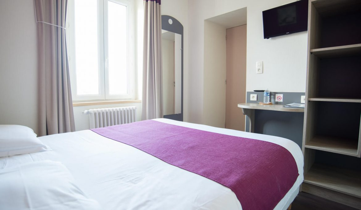 Chambres Double – 62€*